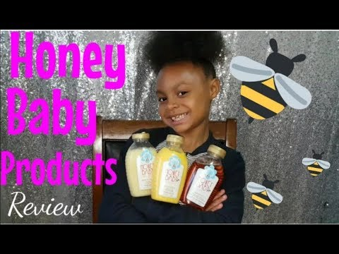 Honey Baby Products Review For Kids Ft. Shaylah | Shannon Marie