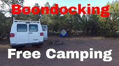 Van Living In Flagstaff Arizona Finding Work A Place To Shower & Walnut Canyon Free Camping