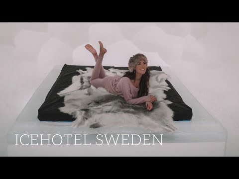 STAYING AT SWEDEN'S WORLD-FAMOUS ICE HOTEL