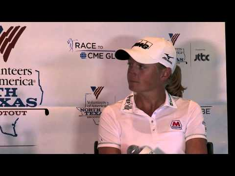Stacy Lewis Pre-Tournament Interview at 2015 North Texas Shootout