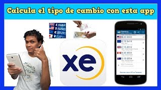 La mejor aplicación para saber el tipo de cambio del día  XE Currency