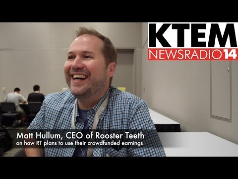 Rooster Teeth's Matt Hullum on Crowdfunding for Lazer Team