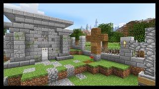 КЛАДБИЩЕ в майнкрафт за 20 минут - Minecraft - Майнкрафт карта