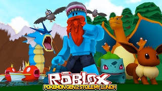 GEN 2 POKEMON MADNESS w/ LITTLE KELLY!! Sharky Gaming | Roblox