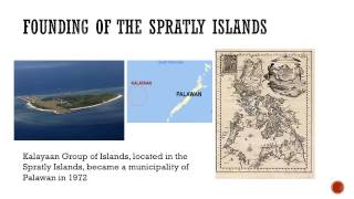 History of Spratly Island and Scarborough Shoal
