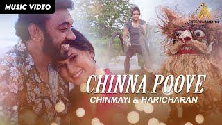 Chinna Poove  - Chinmayi & Haricharan   Official Lyrics Video   MEntertainments Thumbnail
