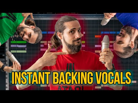 Create Vocal Harmonies Like A PRO In Cubase (from A Single Vocal) #cubase #vocalharmonies #variaudio
