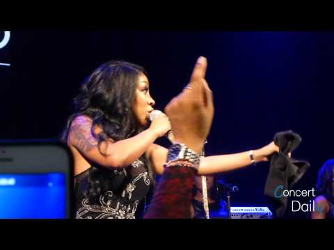 """K.Michelle performing """"Cry"""" Live at Howard Theatre"""