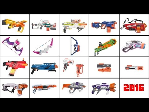 Unreleased Nerf Guns On The Shelves At Toys R Us And Target