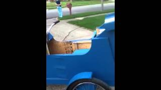 Wooden Go Kart Homemade