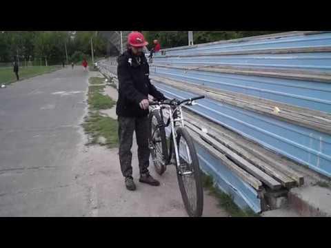 Самый большой велосипед в Украине