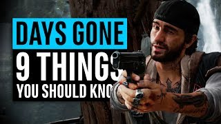 Days Gone | 9 Things You Should Know