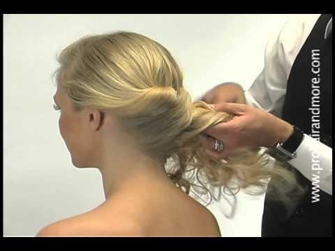 cmo hacer un elegante peinado paso a paso en poco tiempo easy updo youtube