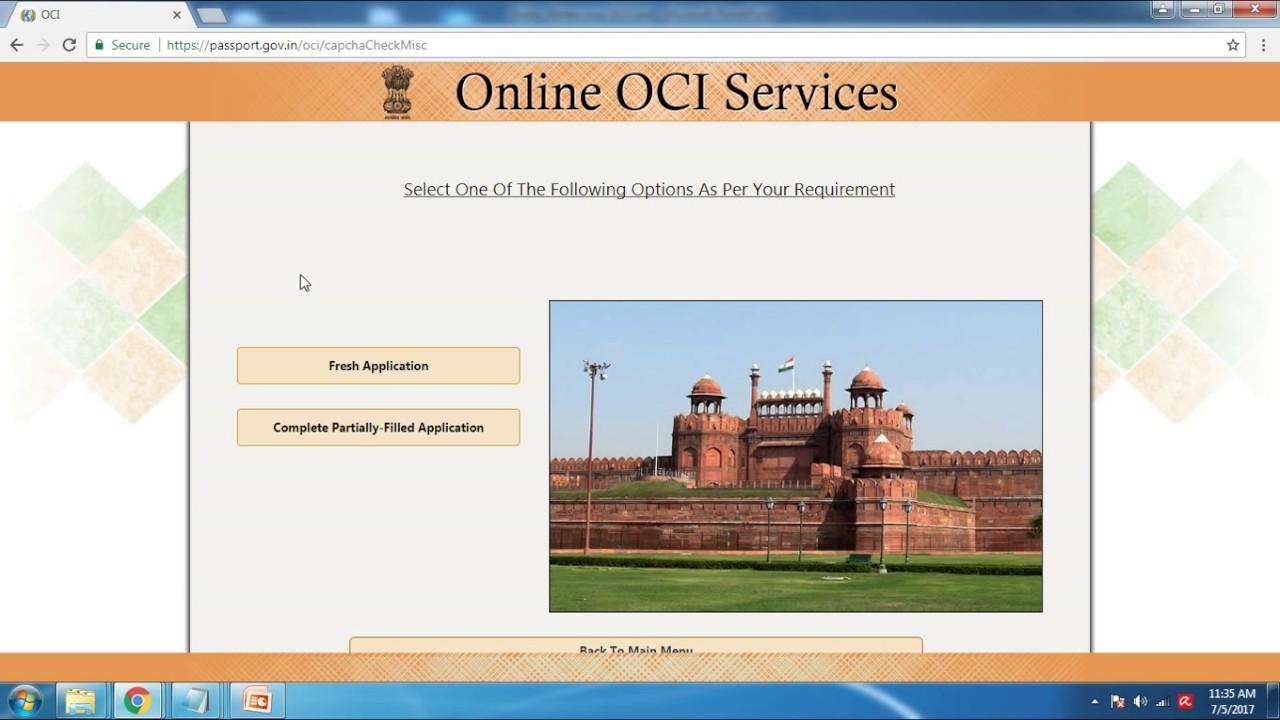 India renew your oci card in english youtube india renew your oci card in english falaconquin