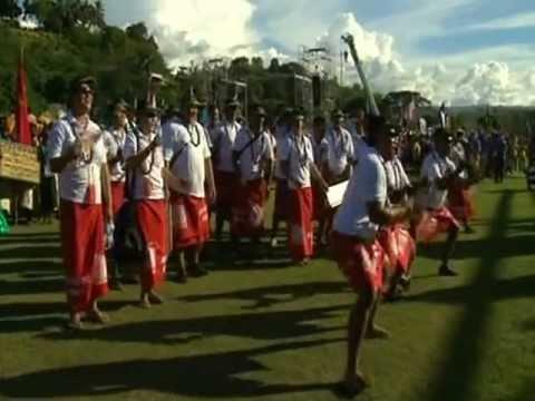 11th Festival Of Pacific Arts in Honiara, Solomon Islands.VOB