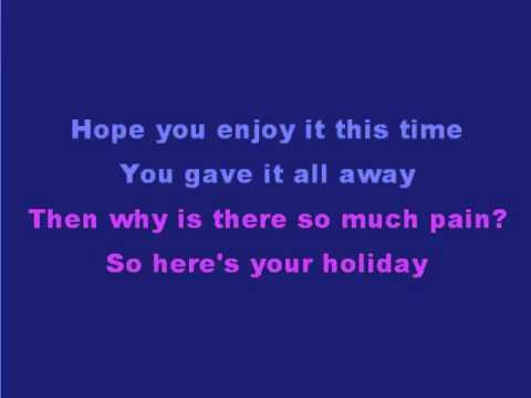 Blink 182 - Stay together fot the kids - Karaoke