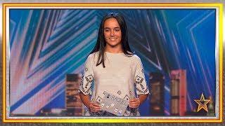 Tiene 13 AÑOS y es una MAGA capaz de HECHIZAR al JURADO | Audiciones 9 | Got Talent España 2019