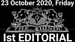 The Hindu Editorial Today | The Hindu Newspaper Today | 23 October 2020 | Unrest in Pakistan