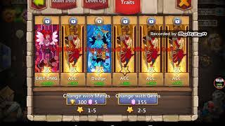 castle clash dove keeper traits video, castle clash dove