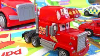 CARS VS JENGA TOWER CARS CRASH