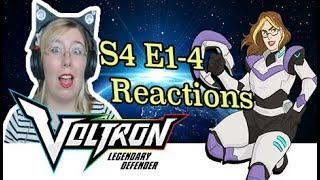S4 Ep 1 -4 - Voltron: Legendary Defender- Reaction- [Reuploads]
