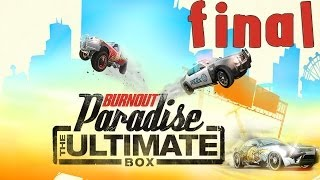 Burnout Paradise: The Ultimate Box - Walkthrough - Final Part 20 - Ending | Credits (PC) [HD]