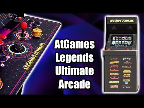 AtGames Legends Ultimate Arcade Machine Overview,Test,First Thoughts