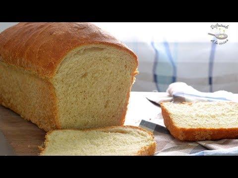 Pan de molde casero muy fácil. Tierno y esponjoso