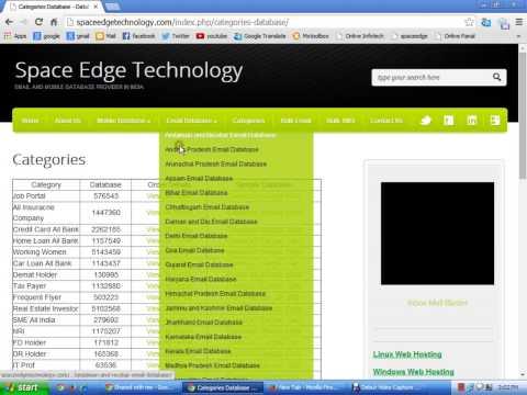 Database Provider Company