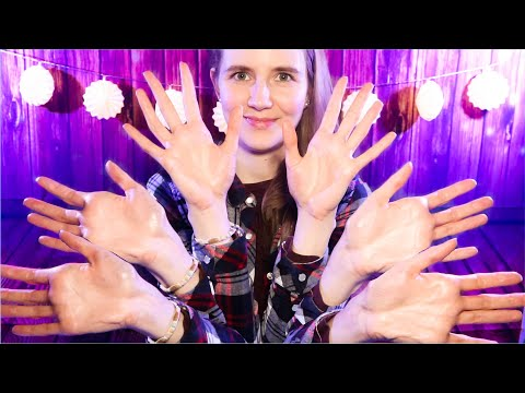 ASMR Super Fast Triple Hand Sounds