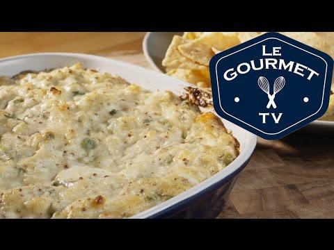 Hot Crab Dip Recipe - LeGourmetTV