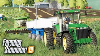 FS19- NEW HIRED HAND FOR CORN HARVEST- WELCOME FARMER NICK!