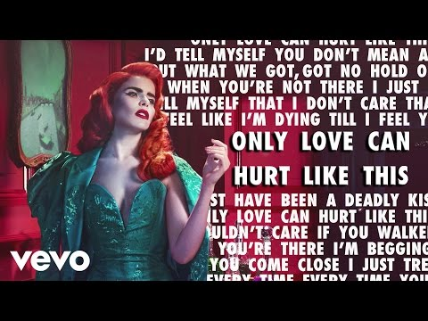 Paloma Faith - Only Love Can Hurt Like This (Karaoke) + Lyrics + Backing Vocals + Original Video