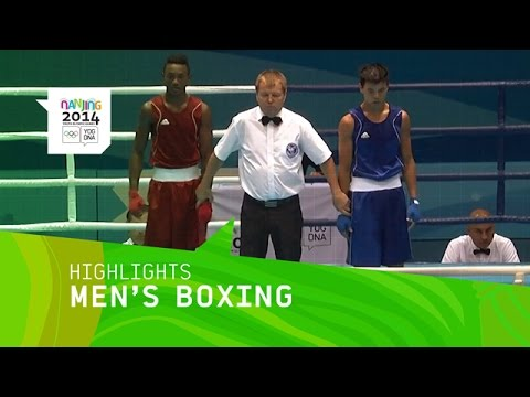 Ablaikhan Zhussupov Wins Men's 60 Kg Boxing Gold - Highlights | Nanjing 2014 Youth Olympic Games
