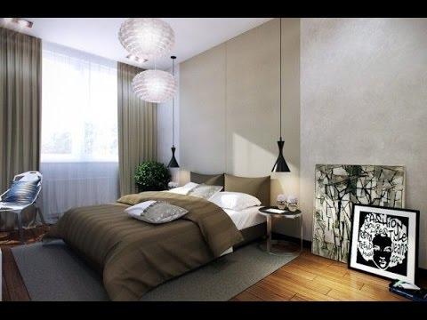 Гармоничный дизайн маленькой спальни