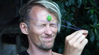 Rubber Band Grape Smash Challenge! - Dudesons Summer of Challenges