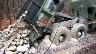 The Stuck Dump Truck