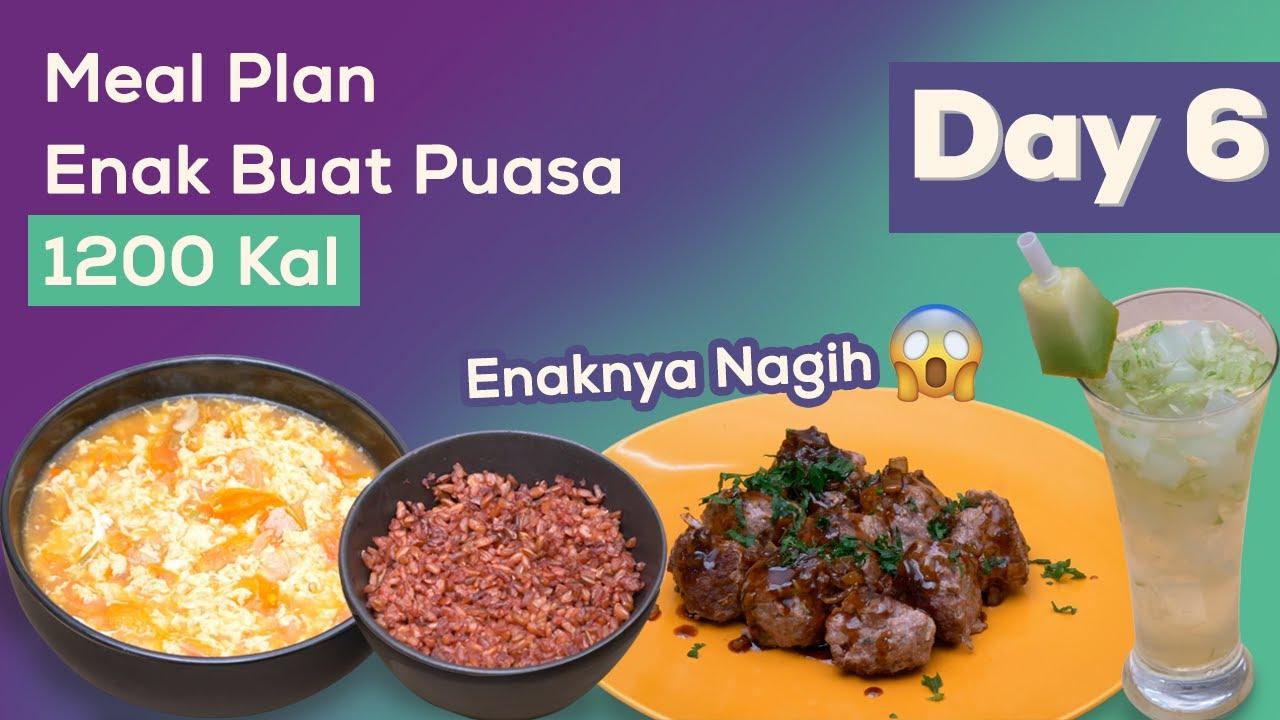 Meal Plan Sehat dan Enak Cocok Buat Sahur dan Buka Puasa Day  6!
