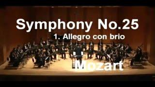 모차르트 교향곡 25번 1악장 클라리넷 앙상블_지휘 손성진 (Mozart Symphony No.25 Mov.1 for Clarinet Ensemble)