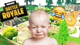 NOT REVIVING ANGRY KID I MADE HIM LEAVE! (Funny Fortnite trolling)