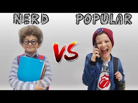 NERD VS POPULAR! - Isaac do VINE