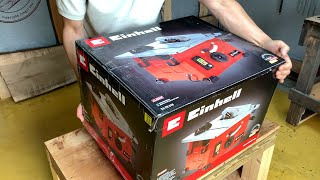 Einhell Mini Table Saw TC-TS 210 - Unboxing, Assembly, Test Cuts