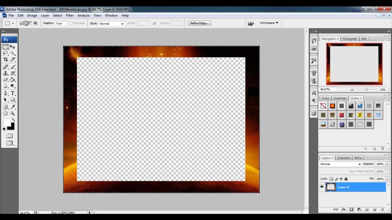 molduras para photoshop cs4
