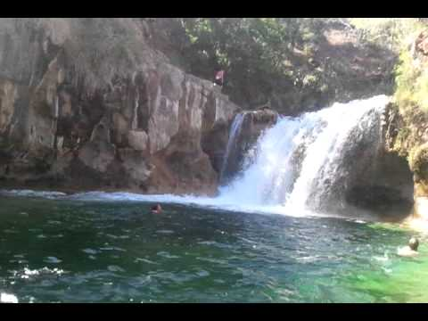 PEEPS CLIFF JUMPING. AT FOSSIL CREEK IN STRAWBERRY ,AZ ...