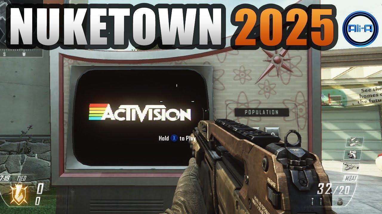 Black Ops 2 Nuketown 2025 Easter Egg Tutorial Call Of Duty Bo2