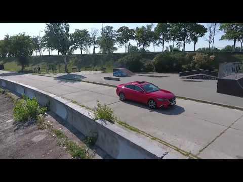 Тест-драйв Mazda 6. Обзор с квадрокоптера