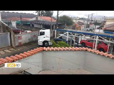 Telespectadores reclamam de tráfego de caminhões em ruas estreitas de Mogi das Cruzes