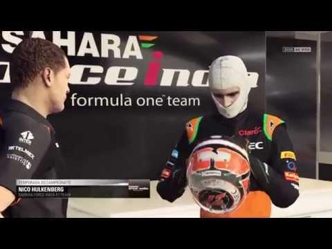 F1 2015 PS4 #16 Estados Unidos - Classificação