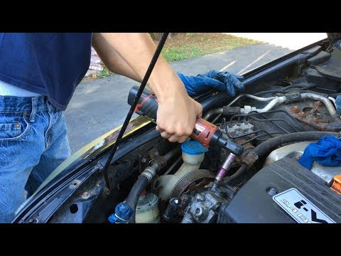 How To Remove & Install Power Steering Pump 2003-2007 Honda Accord 2.4L | DIY Auto Repair Guide