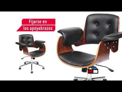 C mo elegir una silla para escritorio sodimac for Sillas ergonomicas sodimac